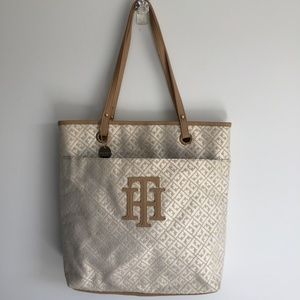 Tommy Hilfiger Jacquard North South Tote